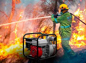 пожарные мотопомпы